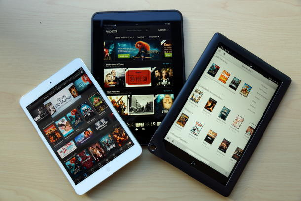 Nên mua iPad mini, Kindle Fire HD 8.9 hay Nook HD+